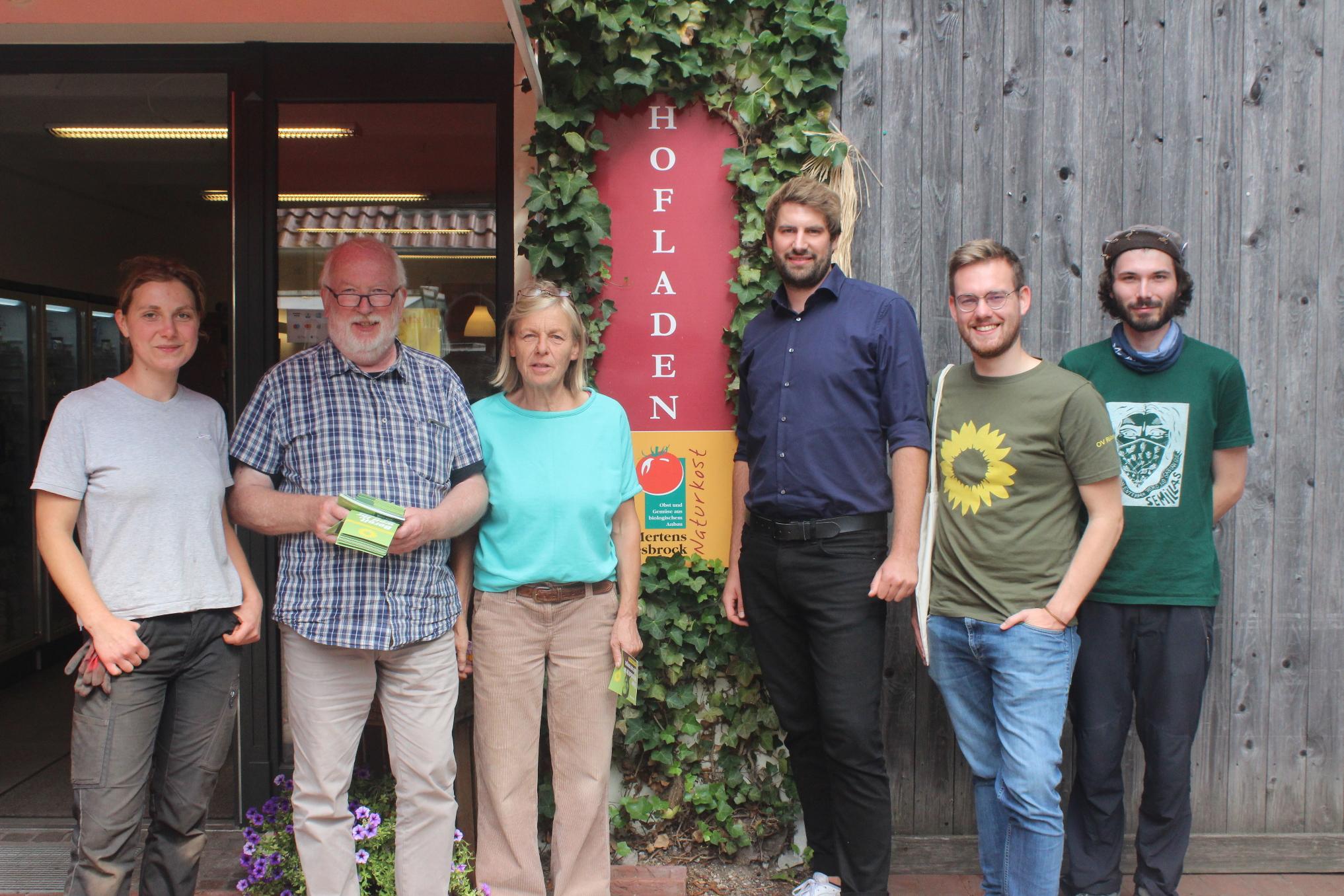 Schöner Besuch des Biohofs in Rietberg
